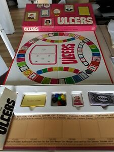 1973 Ulcers Vintage Board Game From Waddingtons. Complete gc