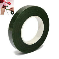 Floral Stem Wrap Florist Flower and Metallic Tape Wire Corsage Craft Green