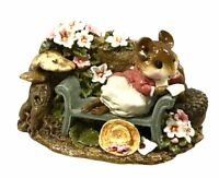 WEE FOREST FOLK LOVE LETTER 1992 FS-5 RETIRED PETERSEN MICE