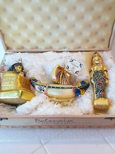 Kurt Adler Polonaise JOURNEY TO EGYPT Christmas Ornaments By Komozja Mostowski