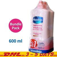 600ml x 2 : Vaseline Healthy White UV Lightening Body Lotion