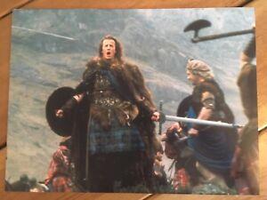 FOUR Highlander Movie 16x12 Photographs / Photos. X4 Lambert & Connery.