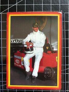Non Bergmann Verlag Rookie Sports Card🔥F1 Michael Schumacher Ferrari