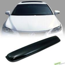 880MM Smoke Sun/Moon Roof Top Window Sunroof Visor Vent Rain/Wind Deflector Va4