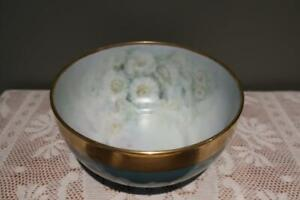 Lovely Hand Painted Large Serving Bowl - Flowering Gum Signed Betty Foster - Vgc