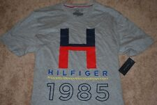 NEW Men's Tommy Hilfiger H-Logo Sport Gray Graphic T-Shirt (X-Large)
