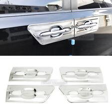 Chrome Door Handle Bowl Cover 4P Set Door Molding C092 For KIA 16~18 Sedona