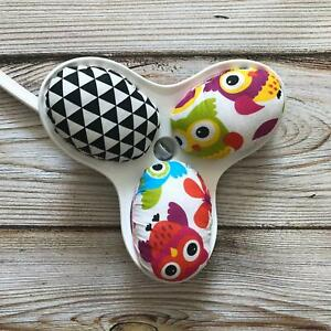 4moms mamaRoo replacement toy balls owls and monochrome print