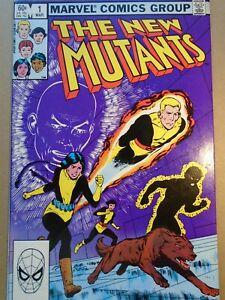 NEW MUTANTS #1 Marvel Comics 1983 High Grade VF/NM