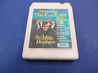 The Mills Brothers Memories Nice And Easy 8 Track Tape, Tested Don't Blame Me