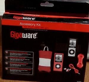 Gigaware Accessory Kit, - For iPod nano 4th Generation - BRAND NEW IN BOX
