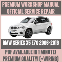 WORKSHOP MANUAL SERVICE & REPAIR GUIDE for BMW X5 E70 2006-2013 +WIRING DIAGRAM