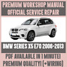 *WORKSHOP MANUAL SERVICE & REPAIR GUIDE for BMW X5 E70 2006-2013 +WIRING DIAGRAM
