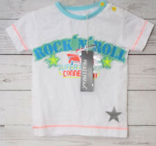 Phister&Philina Baby Jungen T-Shirt Why, Gr. 74, Weiß