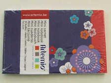 Mini Carnet Fleur Foncée 11x7cm 30 feuilles Artemio DIY Scrapbooking Papeterie