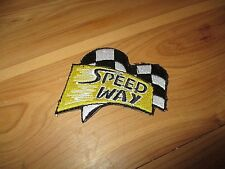 Speed way Clothing Patch iron on sew on Speedway cars and motorbikes