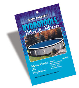 Peel & Patch Vinyl Patch Kit for Swimming Pool Above Ground & In-Ground Liners