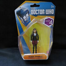 """Doctor Who 3.75"""" Wave 4 Clara Oswald in Cardigan Action Figure-Brand New-Brand N"""