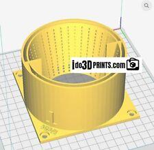 Ingesta Antminer S1 S3 S5 S7 S9 L3+ 120mm ventilador Sudario Silenciador Para Ventilación