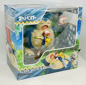 MegaHouse GEM Series Pokemon Nap with Snorlax Figure - Stock In Hand AUS G.E.M.