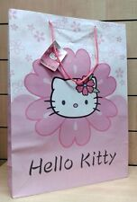 Busta regalo HELLO KITTY sacchetto cartoncino lucido grande 45x33x10cm.
