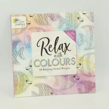 Adult Colouring Book Thearpy Stress Relieving Modern Pattern And Designs