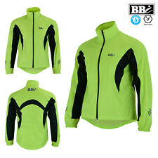 HIViz Lady Cycling Rain Jacket 100% Waterproof Jogging Running Top Quality