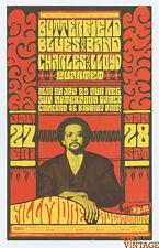 Bill Graham 47 Postcard Charles Lloyd Quartet 1967 January 27