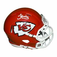 Tyreek Hill Autographed Kansas City Chiefs Speed Mini Football Helmet (JSA)