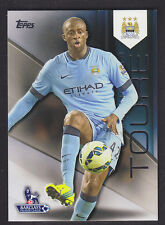 Topps Premier Gold 2014 - Base # 74 Yaya Toure - Manchester City