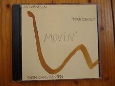 Dag Arnesen Terje Gewelt Svein Christiansen : Movin' /Taurus Records CD 1994 RAR