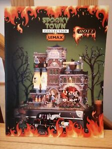Lemax Spooky Town Village 2011 Collection Product Catalogue