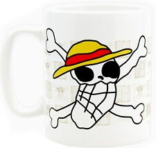 ONE PIECE Tasse XL Ruffy Luffy Totenkopf 460 ml Tasse Becher Mug XL Kaffeebecher