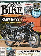 BMW R69S Irving Vincent 8valve HONDA CX650 Turbo Adelaide 24hr Trial OLD BIKE 35