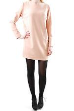 Ana Alcazar Damen Neue elegante Langarm Kleid Peach Größe 40 BCF511