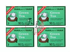 4 x Green Tea Yamamoto Yama 16 Tea Bags - Japanese Green Tea - Foil Wrapped Bags