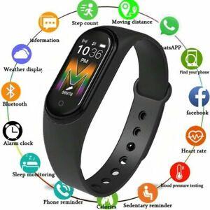 M5 Smartwatch Orologio Smart Band Fitness Tracker Cardio Frequenzimetro S4X0
