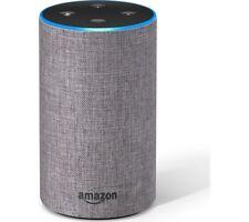 Amazon Echo New 2nd Generation Heather Grey Fabric Alexa Smart Home Automation
