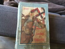 Almanach du combattant - 1940