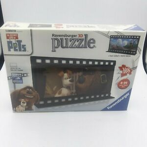 Ravensburger 3D puzzle two sided 108 pieces The Secret Life of Pets, film strips