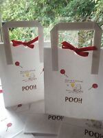 Winnie The Pooh Set of 6 Party Gift Bags