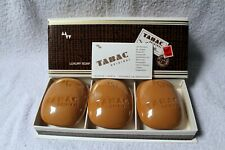 TABAC ORIGINAL LUXURY SOAP SEIFE SAVON GIFT BOX 3X 100G VINTAGE 60S-70S NEW MINT