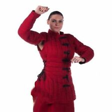 New Medieval Thick Padded RED Gambeson Design Play Custome Sca