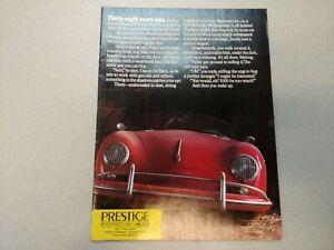 Nice Original 1986 Porsche 911 928 944 959 10 Page Couleur Brochure 38 Ans Ago