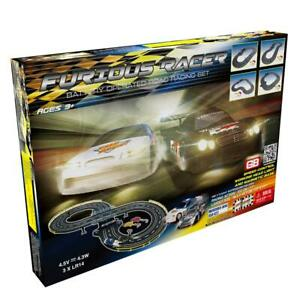 Furious Racer Road Racing Slot Car Set - Battery Operated