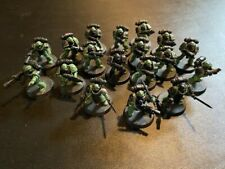 Warhammer 40k Space Marines x18 Tactical Squad Salamanders Forgeworld Upgrades