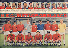 POSTER NEC NIJMEGEN 1967 (COMES FROM DUTCH COMIC MAGAZINE PEP)