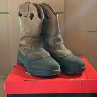 Wolverine Men's Boots Rival Swamp Monster EH Steel Toe Wellington Size 9