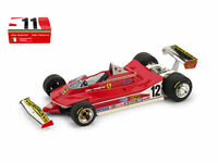 Ferrari 312 T4 Presentazione Fiorano 1979 F1 Formula 1 1:43 Model S1401 BRUMM