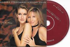 BARBRA STREISAND & CELINE DION - Tell him CD SINGLE 2TR EU CARDSLEEVE 1997